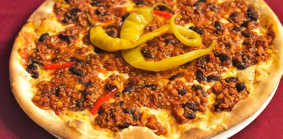 21.3.2019: Pizza Chili-Mexicana