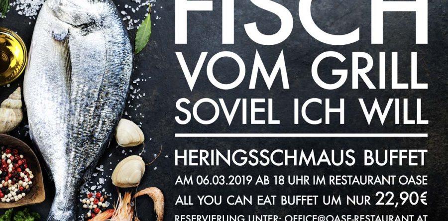 Fisch vom Grill soviel ich will! Heringsschmaus Buffet 2019