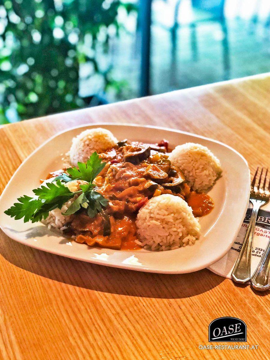 Curry mit knackigem Gemüse